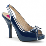 Sandalo Con Tacco Medio | Pink Label Shoes | 4 Colori | Pinup-10+